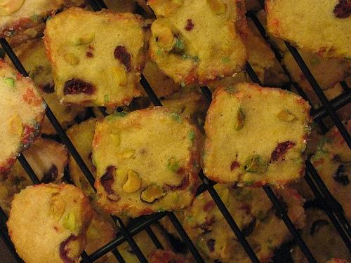 Christmas Cookie Depot Pistachio Cranberry Icebox Cookies Scratch