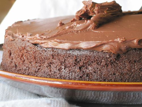 Banana Chocolate Cake Frosting