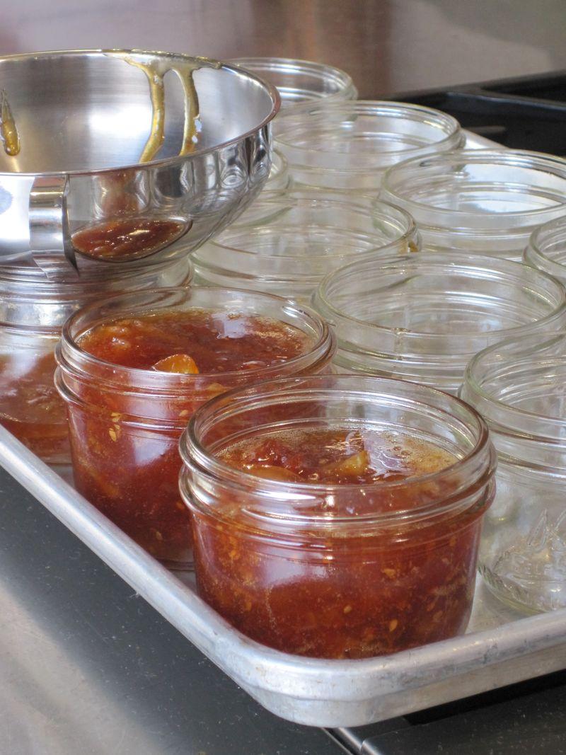 Early girl tomato jam