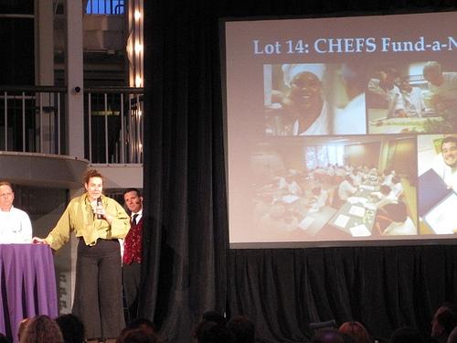 Chefs auction