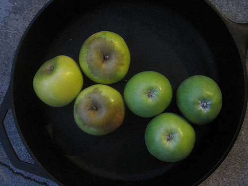 Pippins vs granny smith apples