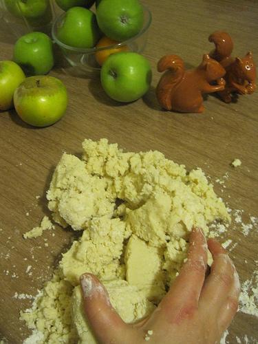 Gathering Dough into a Ball