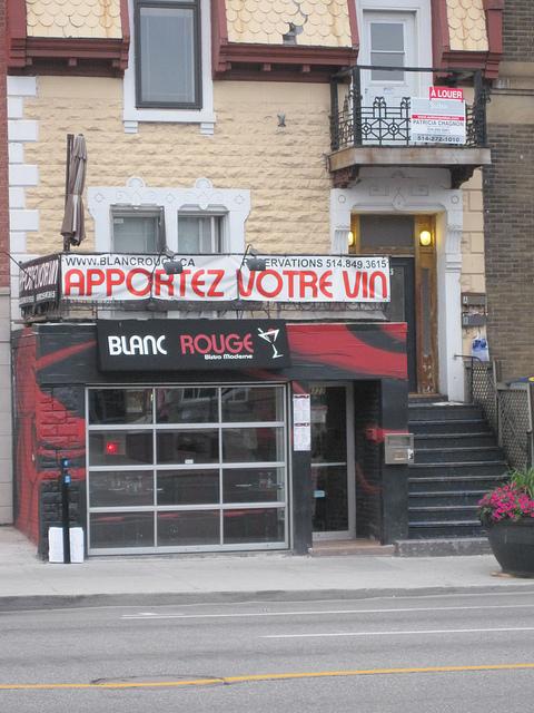 Montreal Apportez Votre Vin